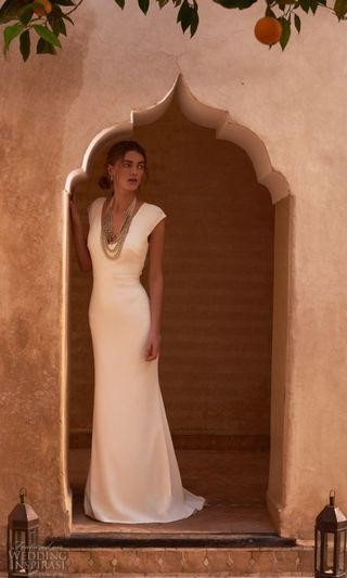 Coming Soon! BHLDN Sawyer Gown by Badgley Mischka