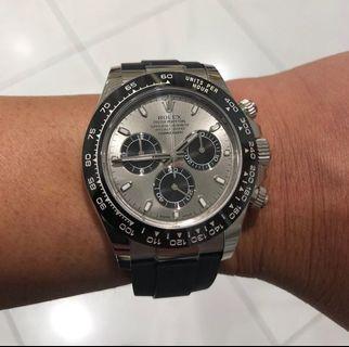 Rolex Daytona WhiteGold 116519LN – Brand New Complete Set