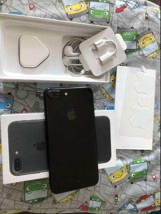 IPhone 7 Plus JetBlack 128Gb eks Apple Singapore ZP/A