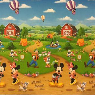 Parklon playmat Double Sided Mickey Mouse with ABC Design
