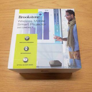 Brookstone Wireless Mobile Smart Projector (200 Lumens)