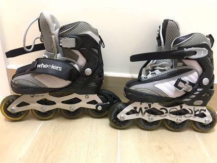 出售 兒童Roller skate 滾軸鞋 (超新淨)