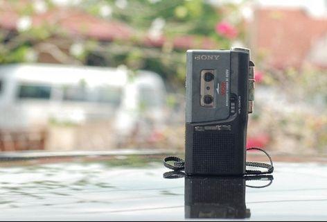 SONY Micocassette-corder M-629V V. O. R for repair.