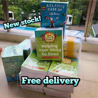 A classic case of Dr Seuss Oxford reading tree Usborne my first reading library read with biff Chip