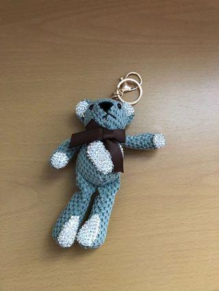 Bear Charm Key Chain