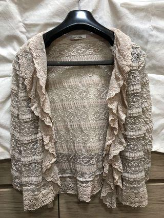 Nice Claup lace cardigan