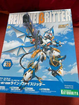 Kotobukiya 壽屋 Super Robot Wars  SRW 機械人大戰OG 1/144 Rein Weißritter  純白騎士 模型