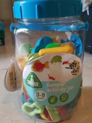 ELC bumper activity jar