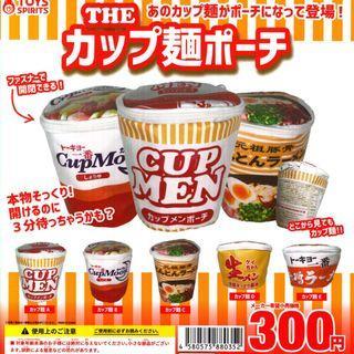 【現貨】The Cup Noodles Pouch 扭蛋 一套全5款 不散賣