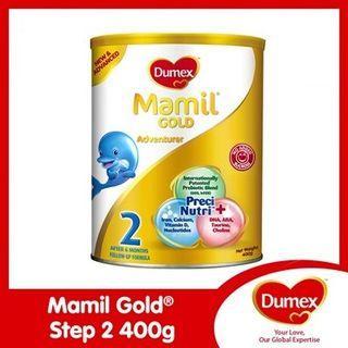 Dumex Mamil Gold Step 2 400g