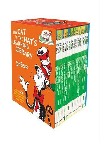 Cat in the Hat Learning Library 20 Books Collection Set