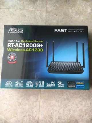 🚚 ASUS Dual-band Router RT-AC1200G+
