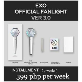 ( HULUGAN ) EXO Official LIGHTSTICK Ver 3.0