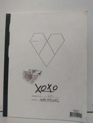 EXO XOXO ALBUM KOREAN VERSION (+official photocard hanya ada xiumin/luhan)