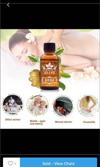 🚚 Natural Therapy Lymphatic Drainage ginger oil