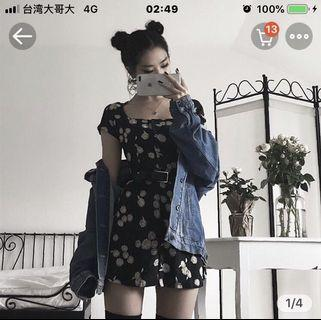 🚚 超級口愛小雛菊修身洋裝