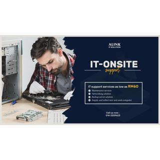 It onsite support service