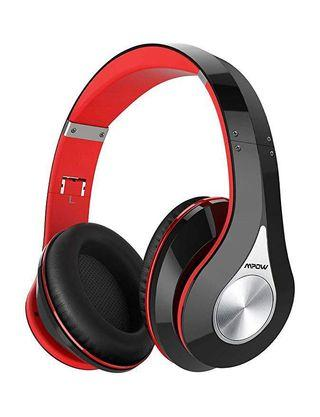 [HG237] Mpow 059 Bluetooth Headphones Over Ear, Hi-Fi Stereo Wireless Headset, Foldable, Soft Memory-Protein Earmuffs, w/Built-in Mic Wired Mode PC/Cell Phones/TV