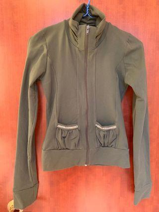 Green Jacket cotton