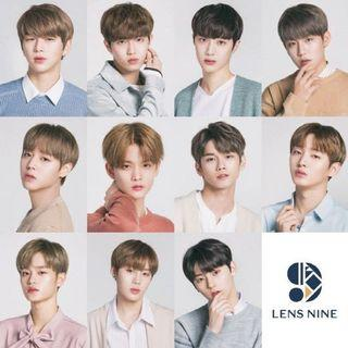 Wanna One Lens  (朴志訓、裴珍映)