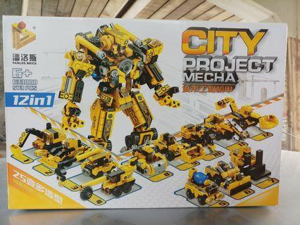 LEGO 12-IN-1 TRANSFORMERS!