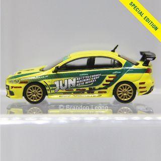 Tarmac Works - Mitsubishi Lancer Evolution X Tuned by JUN (Malaysia Special Edition)