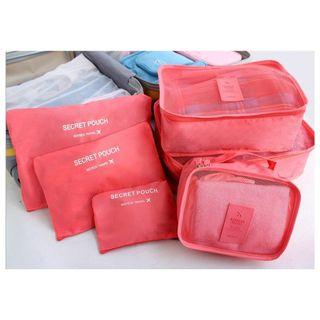 Free Delivery 🚚  Packing Cubes Set of 6 Pieces Luggage Organizers