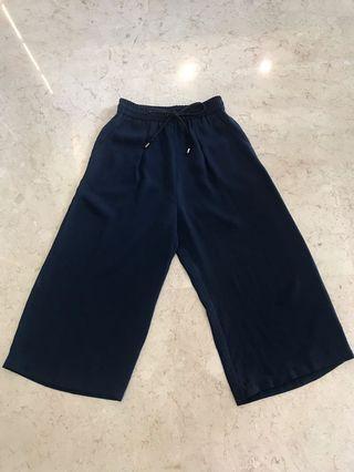 Celana Kulot Cullotes Biru Urban Outfitters