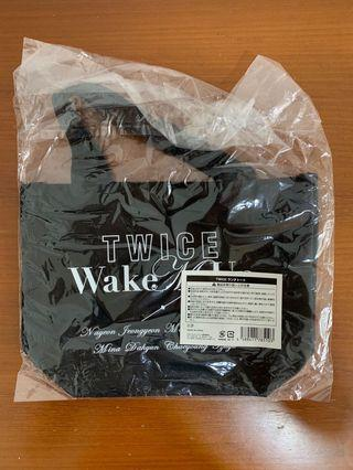 🚚 WMV EXCLUSIVE : Twice Japan Wake Me Up Pouch Bag