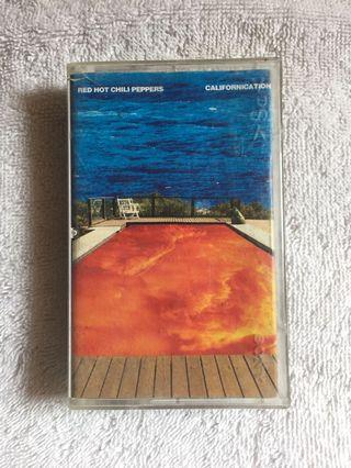 Kaset Pita Red Hot Chili Peppers (Album: Californication)