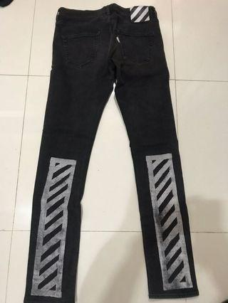 Off White Jeans Slim Fits Original