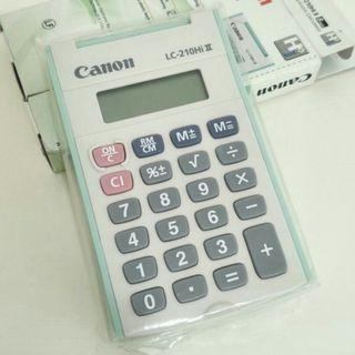 BNIB Canon Mini Calculator 2019
