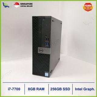DELLOptiplex 5050 (i7-7/8GB/256GB) [Premium Preowned]WNTY