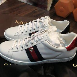 Original Authentic Gucci Ace Sneakers