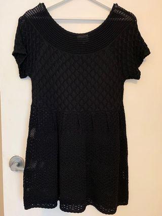 SEED women's black dress XS