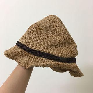 🚚 [贈]渡假風休閒小草帽
