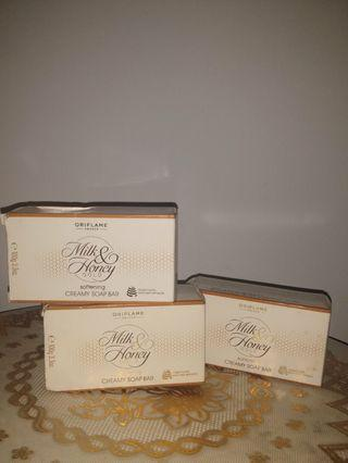 Milk&Honey Creamy Soap Bar~