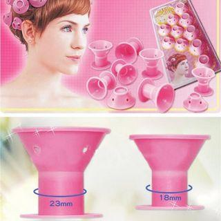 Silicone Hair Curlers 10 Pcs