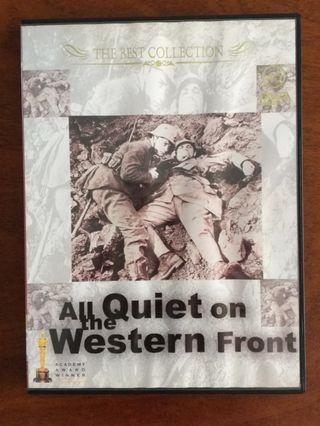 All Quiet On The Western Front (1930) DVD