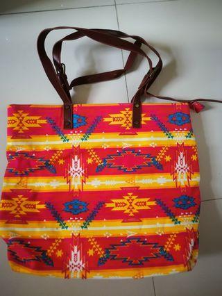 Log on bag