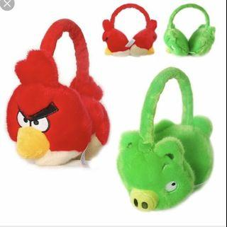 Angry birds Earmuffs (Red)