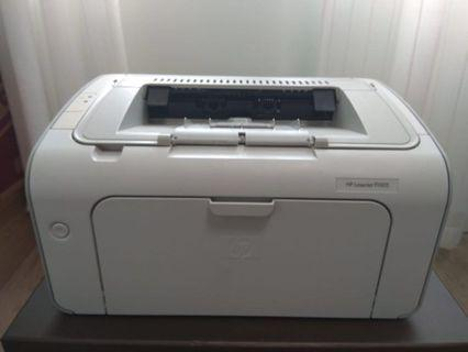 Hp Laserjet P1005 Printer(sold)