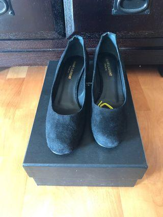 Brand New Saint Laurent Embellished Heels 37.5