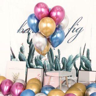 "12"" Chrome Balloon | Instock"