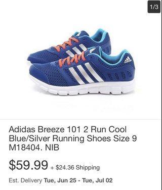 Adidas Breeze 101 Run Cool running shoes