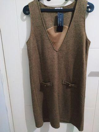 Brown Mididress