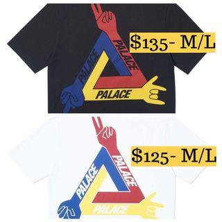 Palace JCDC T-Shirt White/Black