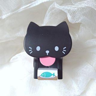 日本黑貓紙膠帶座 cat masking tape cutter