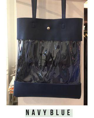 Bella Ammara Tote Bag Transparent