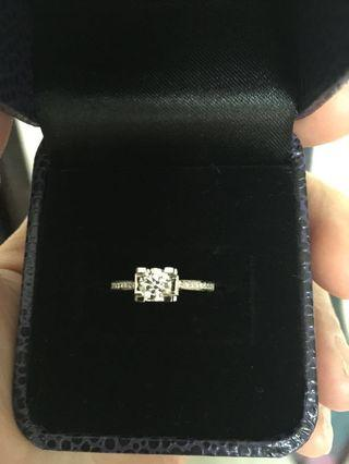 0.5ct Diamond Ring with GIA cert
